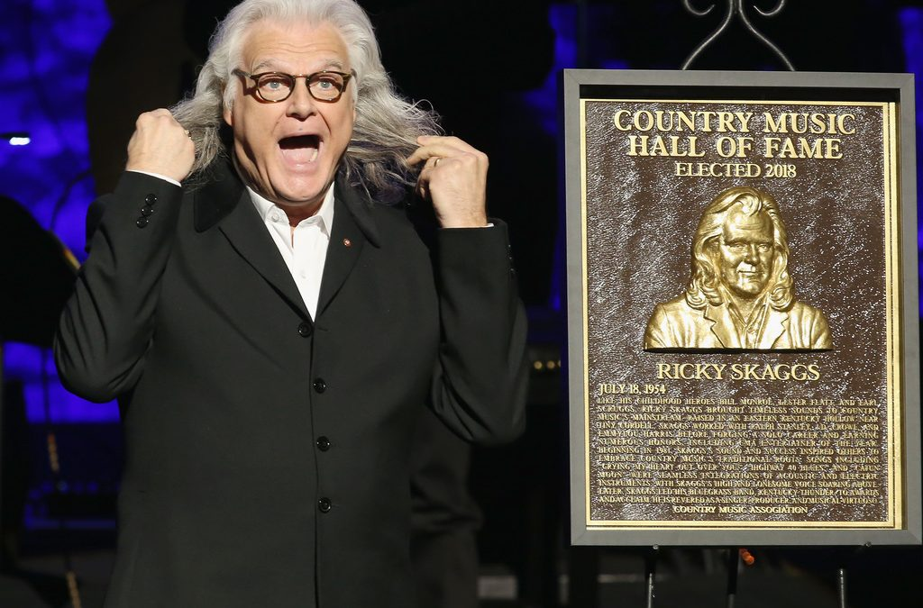 Ricky Skaggs Formally Inducted into the Country Music Hall of Fame