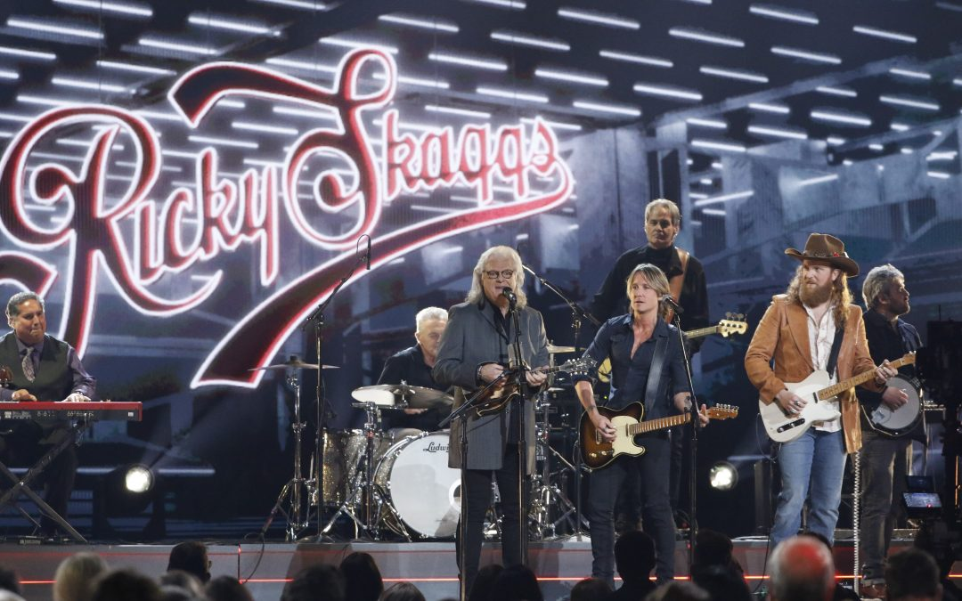 """Ricky Skaggs Wows at """"The 52nd Annual CMA Awards"""""""