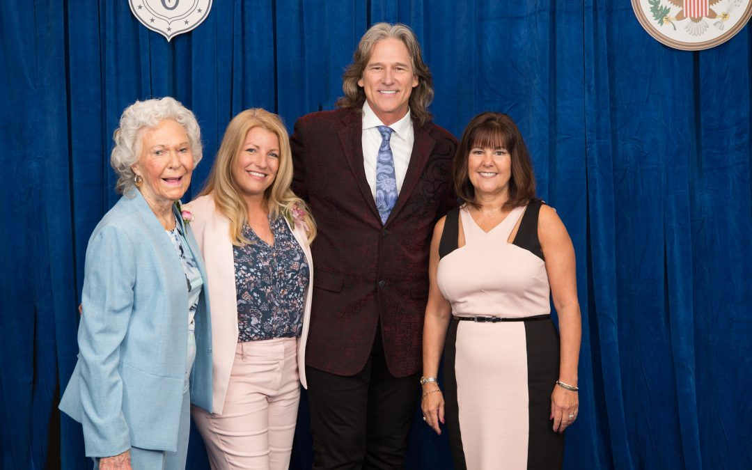 "Billy Dean Performs in Washington D.C. at Congressional Club's ""First Lady's Luncheon"""