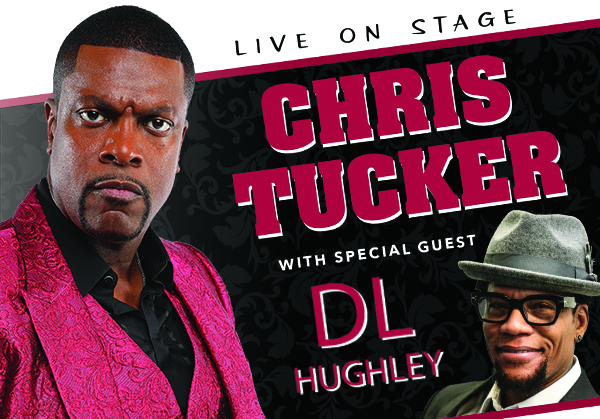 Outback Concerts: Chris Tucker and D.L. Hughley Announced for Cary NC's Booth Amphitheatre