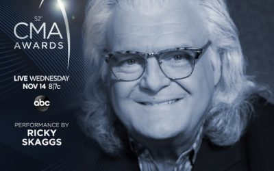 """Ricky Skaggs to Perform Live at """"The 52nd Annual CMA Awards"""""""