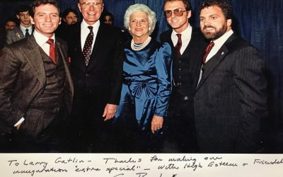Larry Gatlin Reacts to Passing of Longtime Friend, President George H.W. Bush
