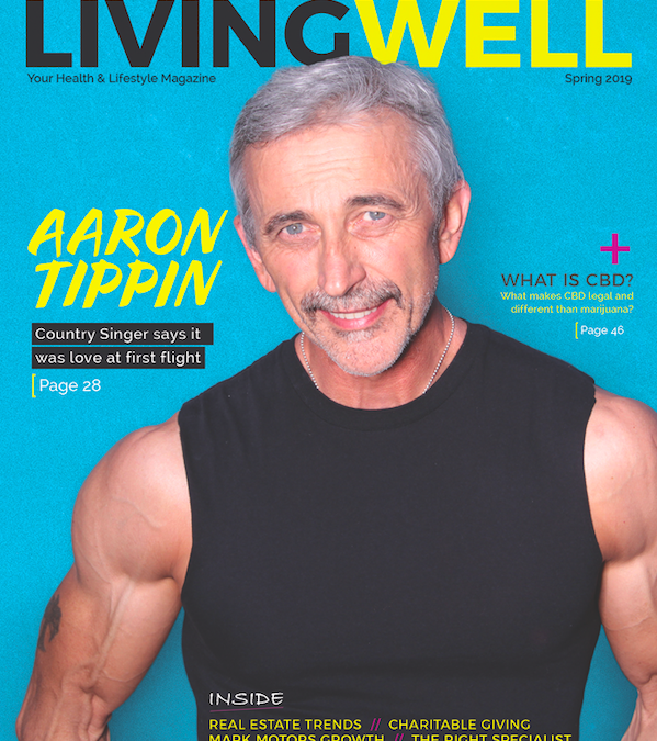 Six-Pack at 60: Aaron Tippin Graces the Cover of Living Well Magazine