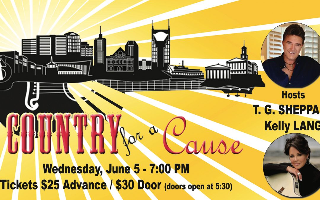 """TG Sheppard & Kelly Lang Set to Host """"Country for a Cause"""""""