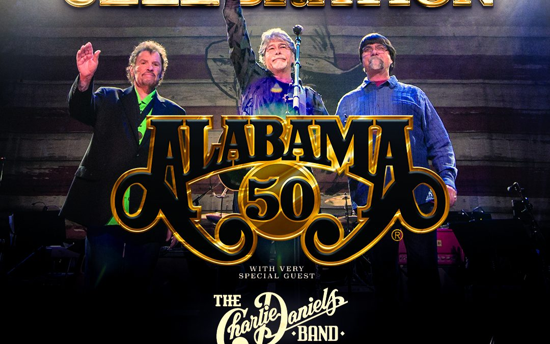 "ALABAMA Reveals ""50th Anniversary End of Tour Celebration"" Set for Nashville's Bridgestone Arena on November 20"