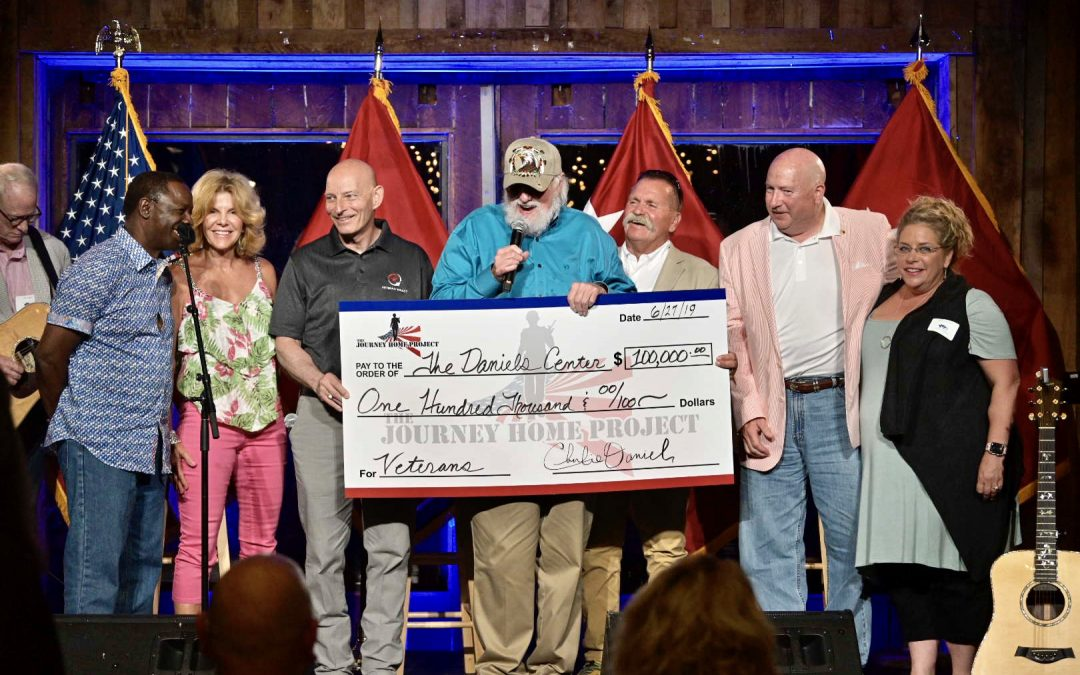 Charlie Daniels and The Journey Home Project Donate 100K to MTSU's Daniels Center